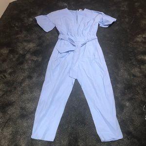 Zara soft cotton jumpsuit